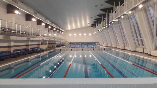 Телескопични трибуни - закрит плувен басейн - Ст. Загора-1452