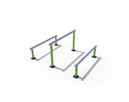 Set of three big hurdles-0