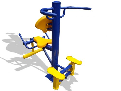 Combined stepper and legs expander-0