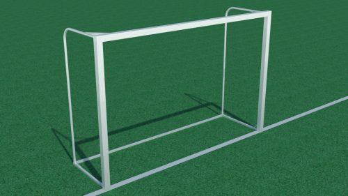 futsal goal 3x2 m steel 80x80