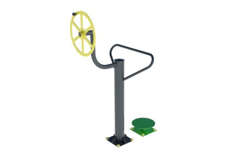 outdoor rotating disc and wheel