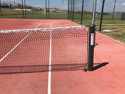 tennis court stands aluminium