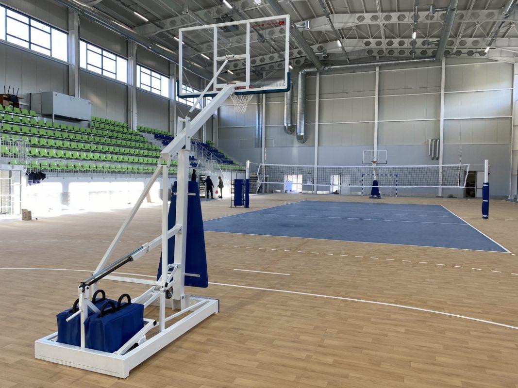 mobile basketball facility