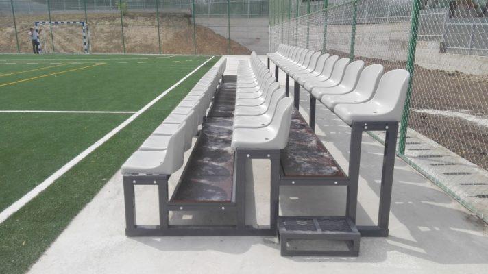 spectator tribunes