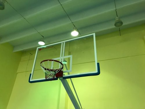 Plexyglass basketball backboards
