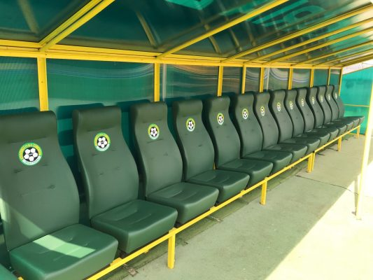 VIP stadium seats