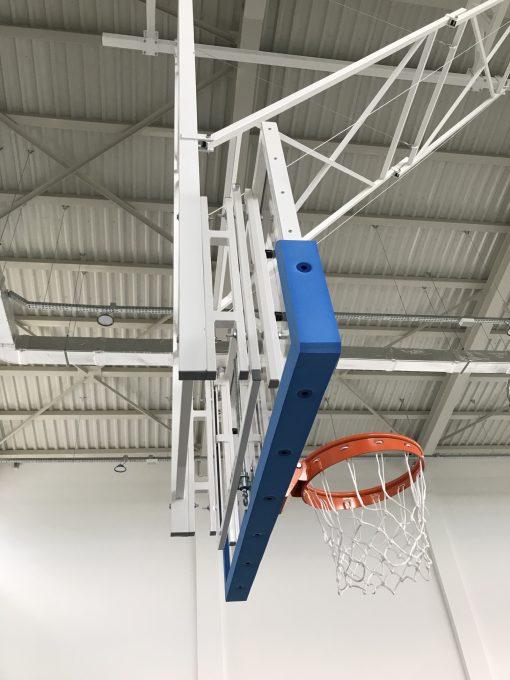сгъваема стойка за баскетболно табло за таван