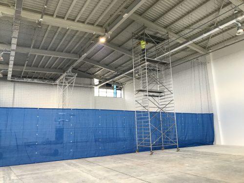разделителна завеса за спортни зали