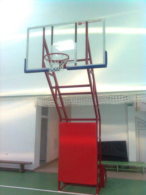 basketball stand bars construction