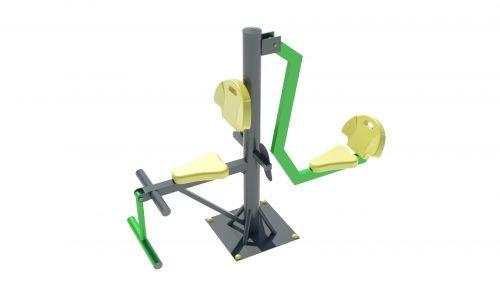 leg press outdoor workout