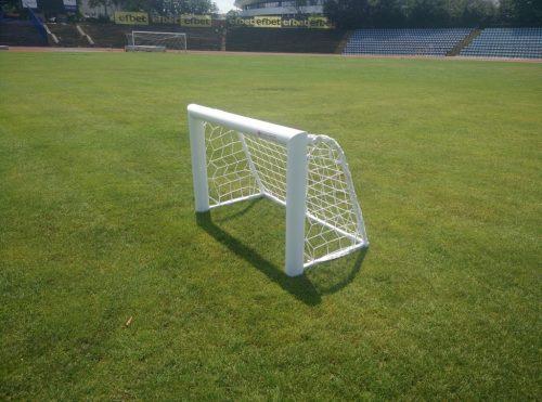 Врата мини-футбол 0,8х0,7 м, монолит, алуминий-0