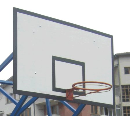 basketball backboard steel